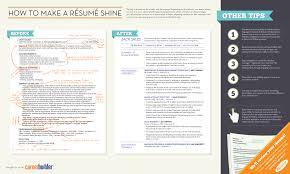 writing a winning resume home infographic how to make a résumé shine