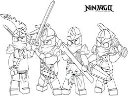 Lego Ninjago Coloring Games Coloring Pages Of Ninjago Jay Coloring
