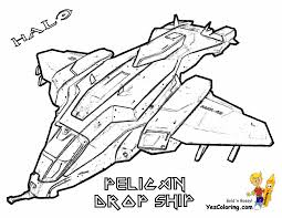 Small Picture Halo 4 Coloring Pelican Drop Ship httpwwwyescoloringcom