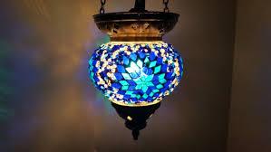 turkish ottoman style authentic handmade mosaic glass lamb candle holder canada otantik el yapimi mozaik