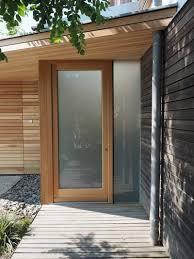 Eingangstür Lärche Glas Garten In 2019 Haustür Glas Eingangstür