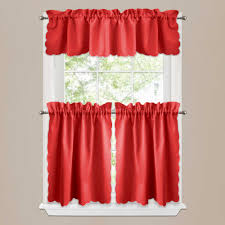 Red Plaid Kitchen Curtains Red Plaid Kitchen Curtains Free Image