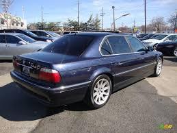 2000 Midnight Blue BMW 7 Series 740iL Sedan #47292108 Photo #4 ...