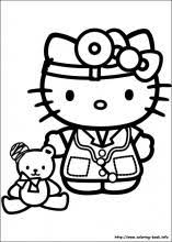 hello kitty color sheets.  Color Hello Kitty Coloring Pages 60 Pictures To Print And Color  Last Updated  October 24th In Color Sheets I