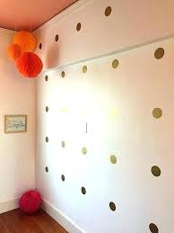 gold polka dot wall decals home decor pro rose dots adorable and totally easy stickers gold polka dot wall decals