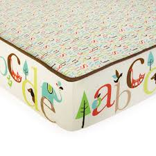 alphabet crib sheet amazon com skip hop complete sheet set with decals alphabet zoo