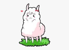 Funny llama character vector illustration svg, ai file. Llama Clipart Kawaii Cute Alpaca Png Png Image Transparent Png Free Download On Seekpng