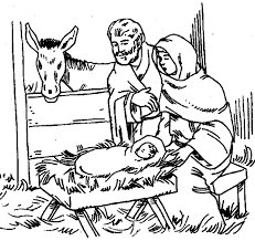 850 Nativity Scene Coloring Pages Printable Coloring Clip Art