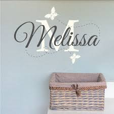 melisa childrens name wall art for nursery contemporary simple stickers brown unique square rectangle brown butterfly on personalised baby wall art uk with wall art design ideas melisa childrens name wall art for nursery