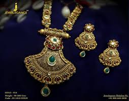 Gold Jadtar Set Design Divine Presence Of Maa Brings Elegance And Success To Your