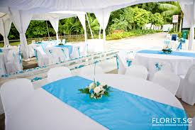 Blue White Wedding Decorations Blue And White Wedding Decorations