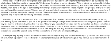 essays on future career plans my career essays
