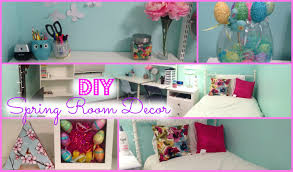 diy spring room decorations more youtube