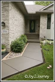 Lead the way to your house in neat style. Top 30 DIY Concrete ...