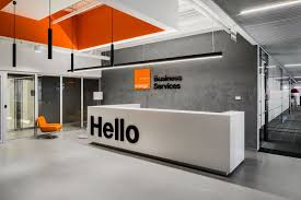 office reception interior. Office Reception Design Orange Business Service Picture Gallery Interior M
