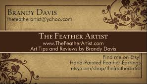 why every artist needs business cards
