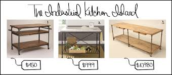 Industrial Looking Kitchen Steele This The Industrial Kitchen Island Southern Living Blog