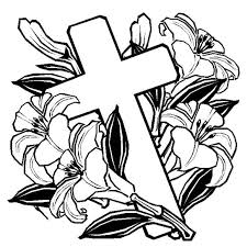 Easter Cross Coloring Pages Easter Coloring Pages Cross With