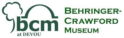 behringer logo. location. behringer crawford museum logo