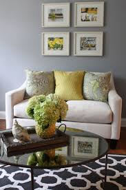 Yellow And Blue Living Room Decor Grey Living Room Decorating Ideas Gray Living Room Living Room