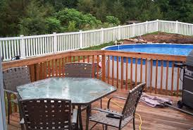 above ground pool with deck attached to house. Well, We Finally Decided To Get The Above-ground Pool That We\u0027ve Been Contemplating For Some Time Now. Kids Love It But Amount Of Work Was Above Ground With Deck Attached House