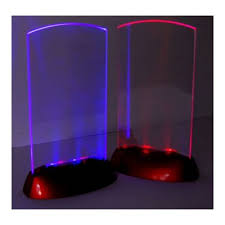 Menu Display Stands Restaurant Acrylic Flashing Led Light Table Menu Restaurant Card Display 90