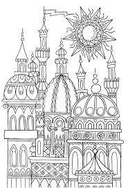 Palace Coloring Page