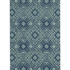 blue and white triangle design outdoor rug d from r2 750 mobelli furniture living