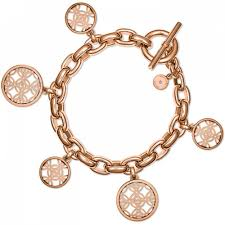 michael kors chunky link rose gold charm bracelet product code mkj4474791