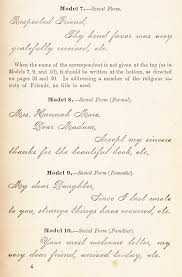 formal handwritten letter format how to write letters a 19th century guide to the lost art of