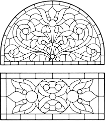 Small Picture Epic Stained Glass Coloring Pages For Adults 61 About Remodel Free