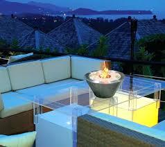 fuoco gel tabletop fireplace oasis table top indoor outdoor red rock real flame zen