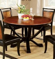 Furniture Of America Cm3034rt Salida Acacia Black 48 Inch Round