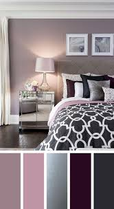 bedroom color palette. Elegant Silver, Plum And Lavender Palette Bedroom Color
