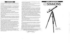 simmons telescope 6450. simmons telescope 6450 p