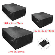 rattan outdoor furniture covers. extra large garden rattan outdoor furniture cover patio table protection black covers o