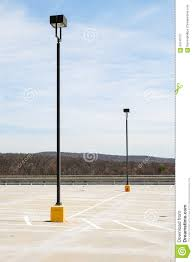 royalty free stock photo parking lot lights