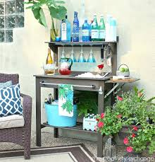 world market benches potting bench turned outdoor bar world market potting bench world market bedroom benches