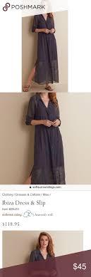 Soft Surroundings Size Chart Soft Surroundings Ibiza Dress Slip Maxi Medium Soft