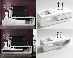 modanuvo modern white grey high gloss