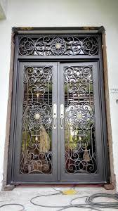 wrought iron doors custom iron front doors iron entry doors glass iron doors hc 1 iron safety door design french doors european style french door