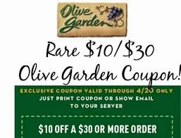 olive garden coupon 2019 december