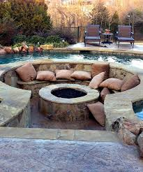 garden fire pit. Picture Of Cozy Fire Pit Zone Designs For Your Garden 27