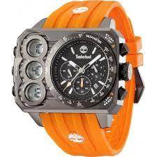 13673jsu 02s mens timberland watch watches2u timberland 13673jsu 02s mens ht3 black orange watch