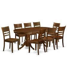 Amazoncom East West Furniture Valy9 Esp W 9 Piece Set Vancouver