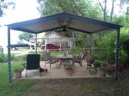 free standing patio covers metal. Delighful Standing McQueeny Texas Free Standing Metal Pavillion In Patio Covers W