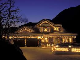 christmas lighting ideas houses. Dining Room Beautiful Design Modern Tabletop Christmas Decorations Fancy Ligthing New Home Ideas Interior Lighting Showy Houses D
