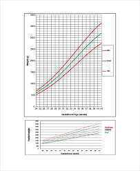 Fetal Growth Chart Percentile Unborn Baby Growth Chart Template 5 Free Excel Pdf