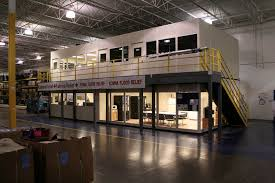 mezzanine office space. Two Story Modular Mezzanine Offices Maximize Floor Space And Provide Clear Views Of Your Industrial Plant Or Warehouse. We Offer Nationwide Installation. Office Z