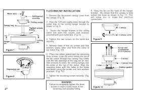 do you have installation instructions for hampton bay fan full size image